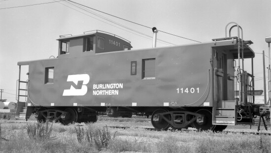 Burlington Northern Caboose 11401