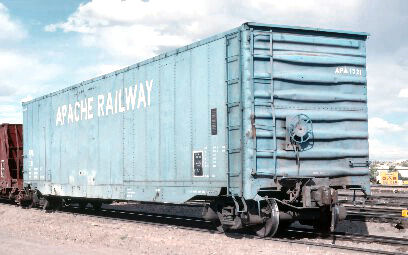 Apache Railroad Chip Car