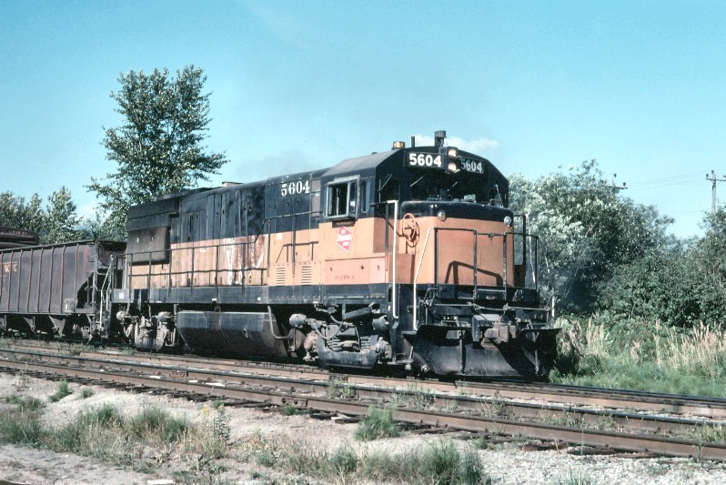 Milwaukee Road 5604